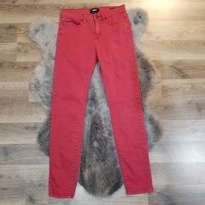 BDG hi rise cigarette ankle jeans size 27 x 30